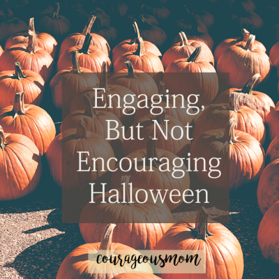 Engaging but Not Encouraging Halloween