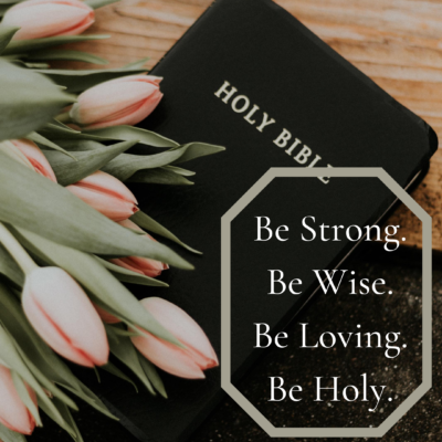 Be Holy, Because He is Holy