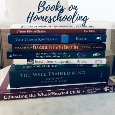 Favorite Books for Parents to Read about Homeschooling