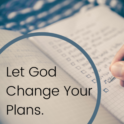 Give God Your Childbirth Plan